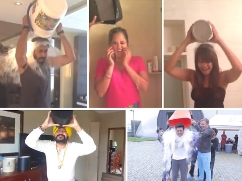 Bollywood Star take the ALS Ice Bucket Challenge!