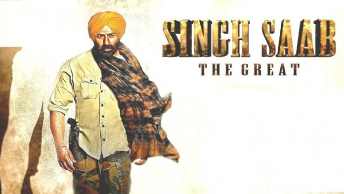 Singh Saab The Great Movie Poster