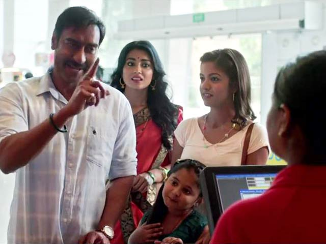 Ajay Devgn in a still from Carbon Copy Video Song